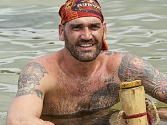"Scot Pollard, former Indiana Pacers player, is part of the Brawn clan on the new season of ""Survivor."""