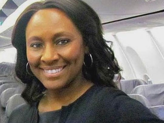 A flight attendant says she stopped a girl from becoming