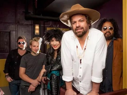 Rusted Root will play the Newton Theatre.