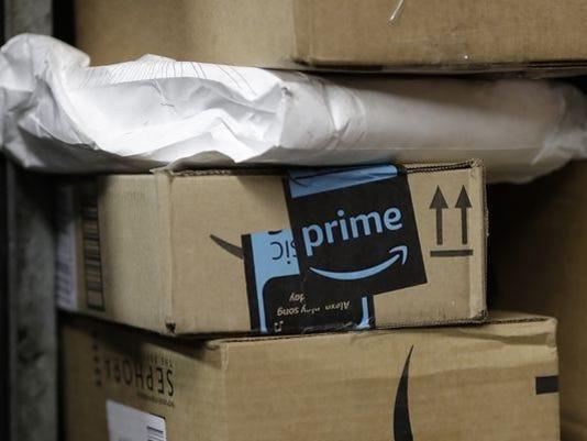 Amazon Prime box delivery
