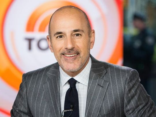 "Matt Lauer, longtime host of the ""Today"" show, was"