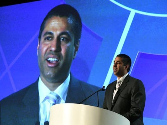 Ajit Pai, chairman of the Federal Communications Commission,