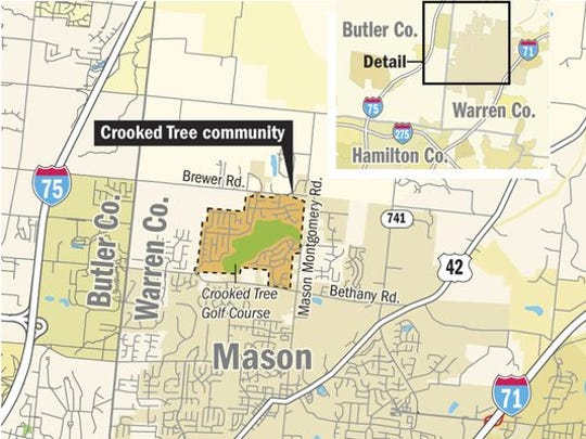 Proposed Crooked Tree development map