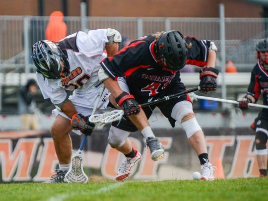 Pittsford Sutherland grad Steven Ricci is RIT's top returning faceoff man.