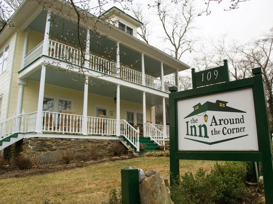 Inn Around the Corner was built in 1915 by an artist and has been an inn since the late 1980s.