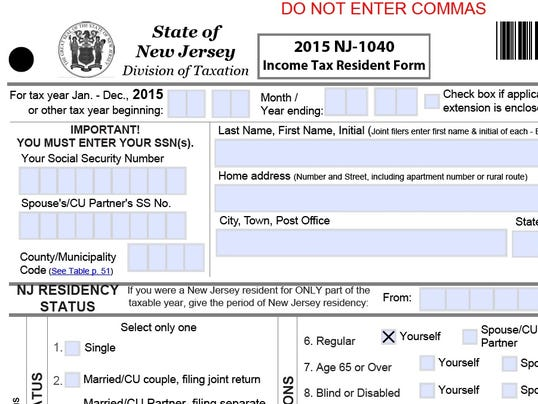 NJ to delay state tax refunds – Tax Form