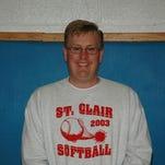 Kevin Mahn, St. Clair softball coach