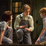 """Starring in UD REP's production of """"To Kill a Mockingbird"""" are, from left, Evangeline Heflin as Scout, Luke Brotherhood as Jem and Cater Weiss as Dill."""