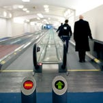 All about airport moving walkways