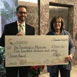 Farmington Musicale receives grant from FFHFYA