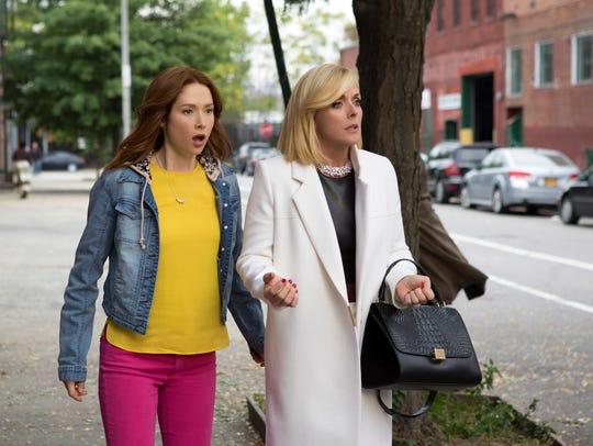 """Ellie Kemper, left, and Jane Krakowski in """"Unbreakable"""