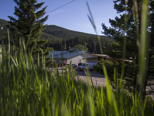 The Cougar Canyon Lodge, formerly the Cub's Den, is