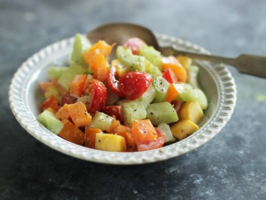 Food Back To School Salad