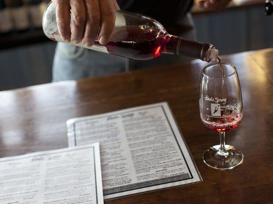 Keuka Springs Vineyard is one of eight members of the Keuka Lake Wine Trail.