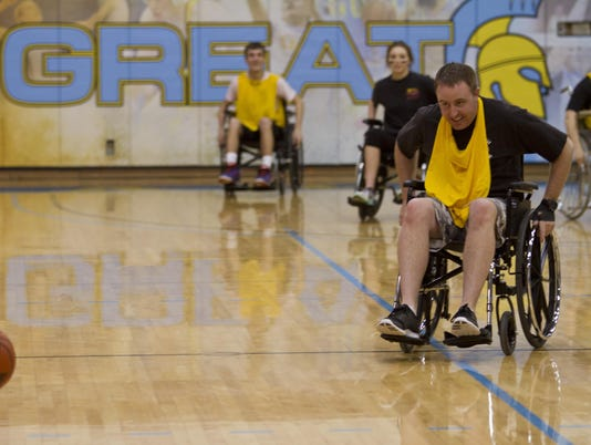 1 Wheelchair Basketball