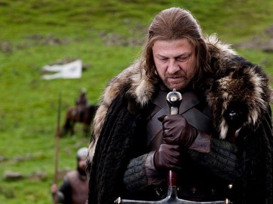 Sean Bean as Ned Stark in Season 1 of 'Game of Thrones.'