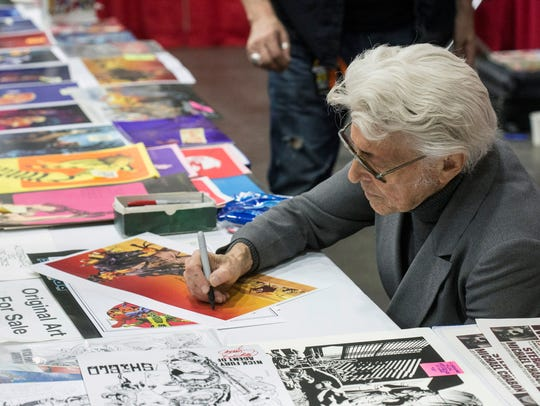"""Jim Steranko, considered to be one of the """"five most"""