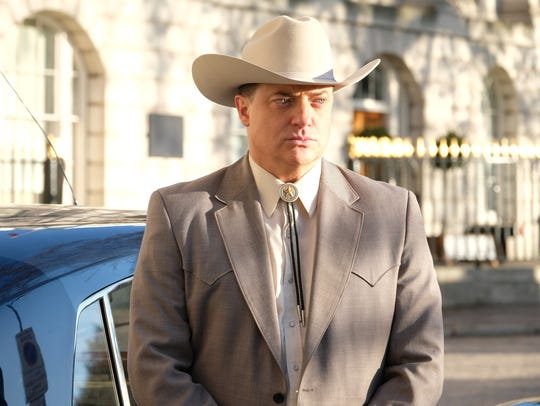 """Brendan Fraser as Fletcher Chase on """"Trust."""""""