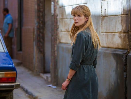 "Rosamund Pike stars in ""Beirut."""