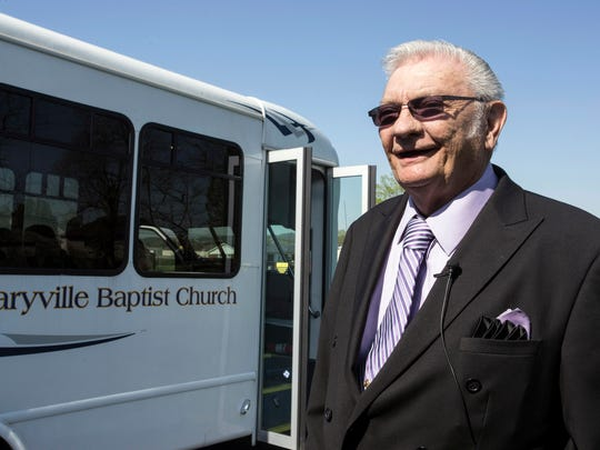 Maryville Baptist Church pastor Jack Roberts says he will keep holding services despite a statewide ban on gatherings.