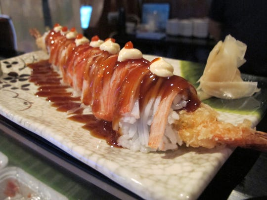 The Sunday Roll includes tempura shrimp at the new