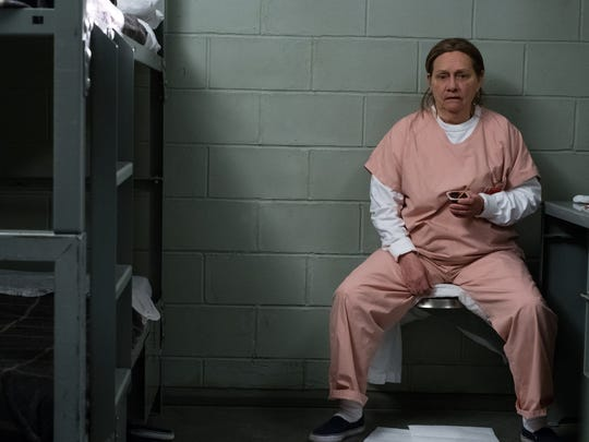 "Dale Soules in a scene from Season 6 of ""Orange Is the New Black."""