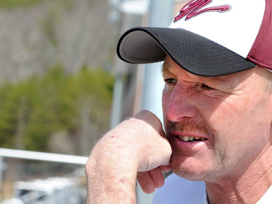 Owen High School head football coach Kenny Ford reflects on his coaching career Monday afternoon at Owen High School.