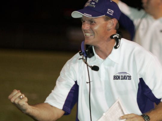 FILE – Tom Allen was head coach at Ben Davis for three seasons.