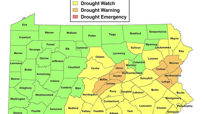 York County remains in a drought watch, and more storms will be needed to recharge the groundwater, said Alex Sosnowski, a senior meteorologist with  AccuWeather.com.