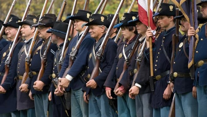 Infantry representing both sides of the conflict will skirmish at 11 a.m. Sept. 27 and 28, followed by a full-scale battle at 2 p.m.