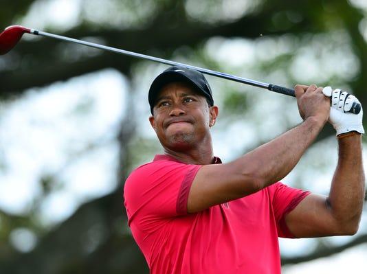 06-17-2014 Tiger Woods swing