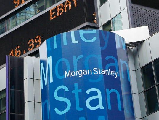 Morgan Stanley Slumps On Fourth Quarter Results