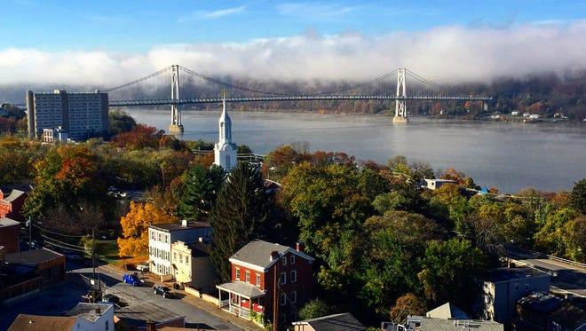 View of downtown Poughkeepsie.