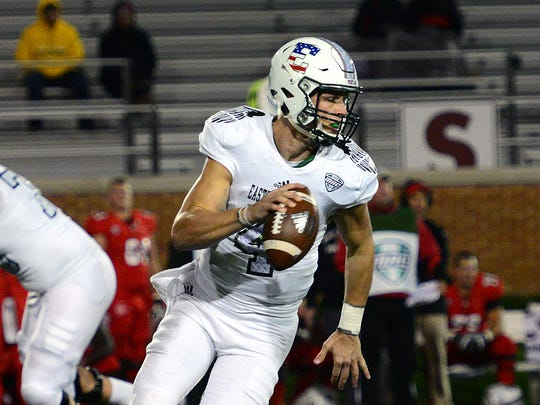 Expect Eastern Michigan Eagles Quarterback Brogan Roback, now a senior, to have his best season.