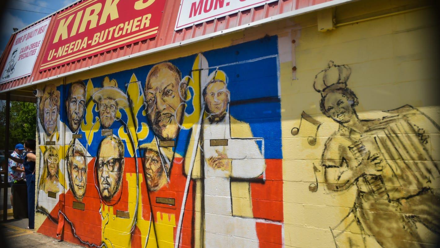 coterie dedicates mural to local legends. Black Bedroom Furniture Sets. Home Design Ideas