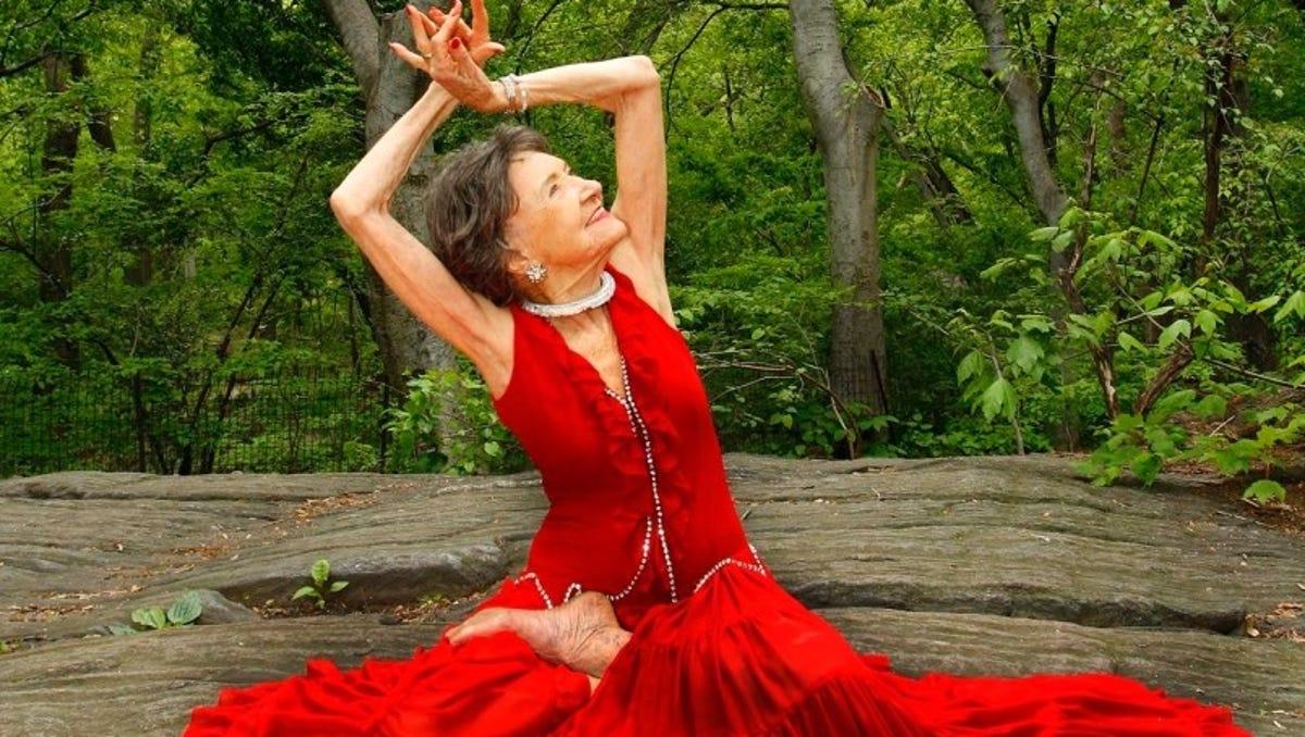 Tao Porchon Lynch Keeps Moving Dancing