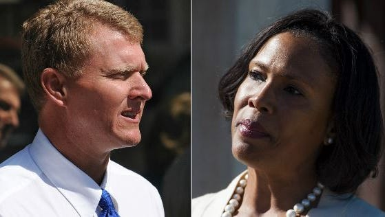 City Director of General Services (left) and Chief of Staff Anita Archie (right) resigned their posts with the city of Montgomery Mayor Todd Strange announced Friday, June 2.