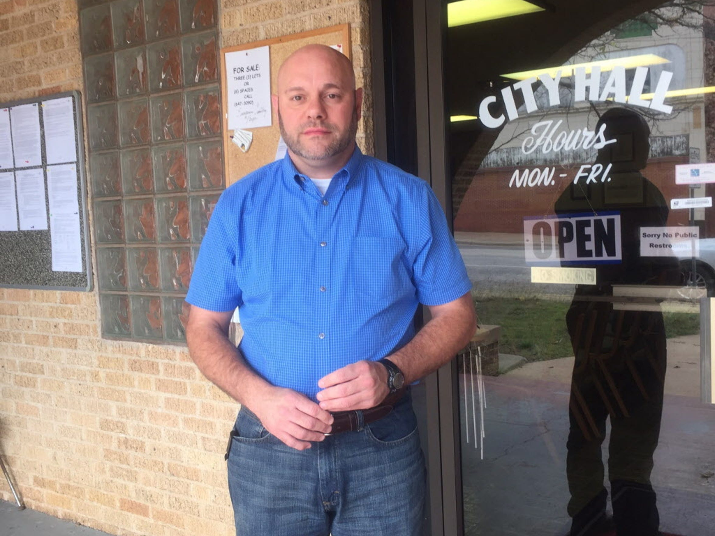 Ranger, Texas, City Manager Chad Roberts says state