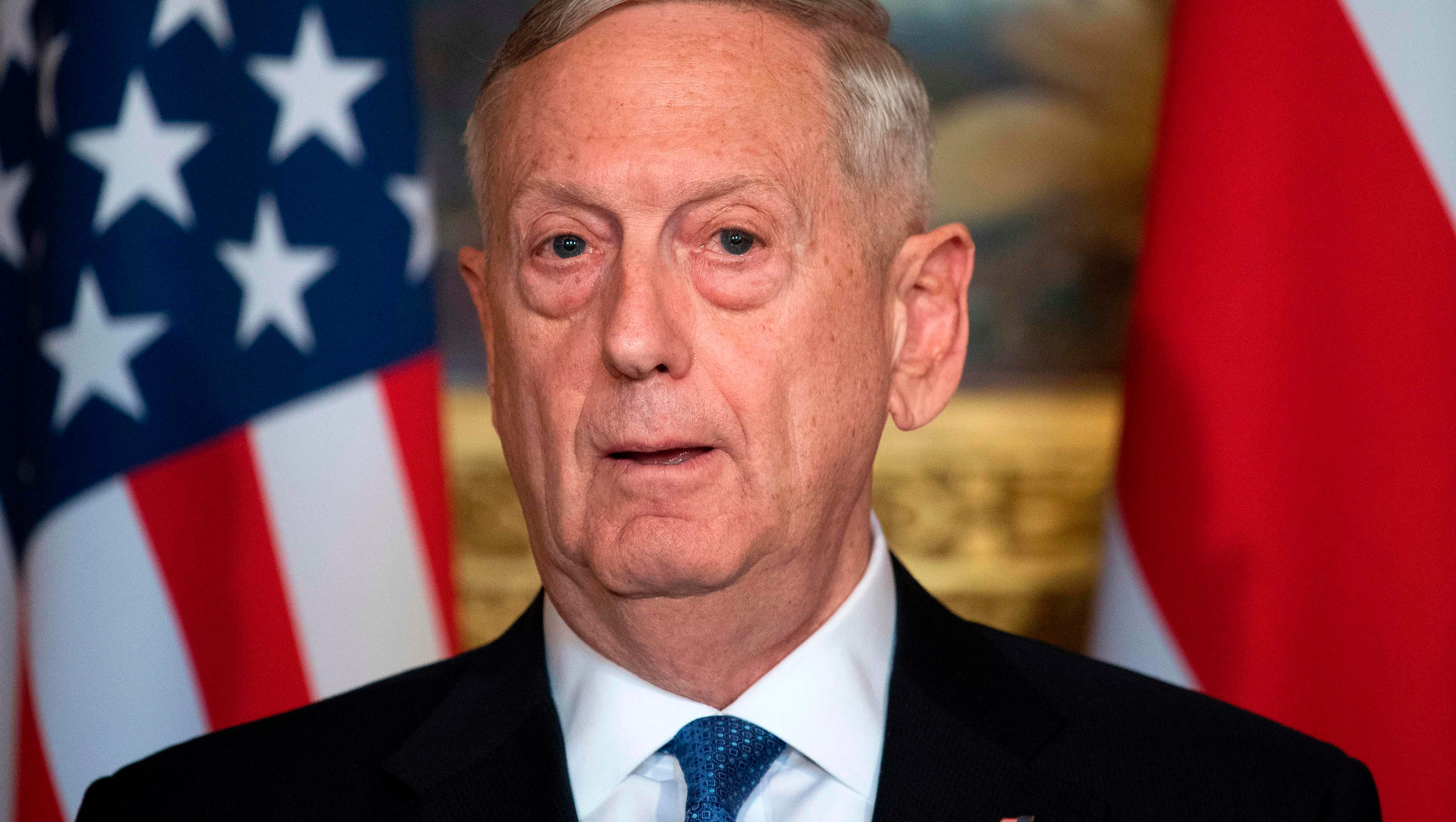 Mattis: North Korea's failed missile launch a reckless provocation