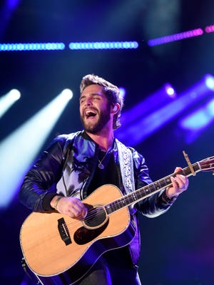 Thomas Rhett performs during the 2016 CMA Music Festival at Nissan Stadium on June 12, 2016.