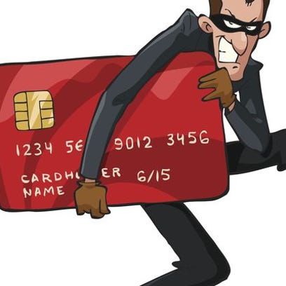 Thieves target credit cards.