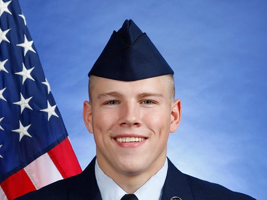 Air Force Airman Trevor J. Hunt