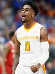 Jordan Bone's hot-shooting and 19 points carried Tennessee