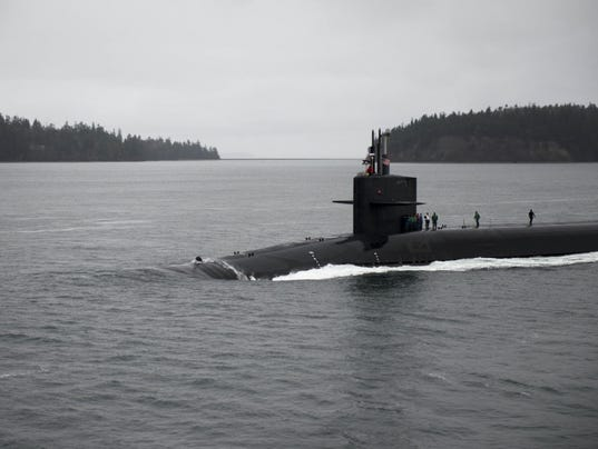Uss pennsylvania returns to naval base kitsap bangor