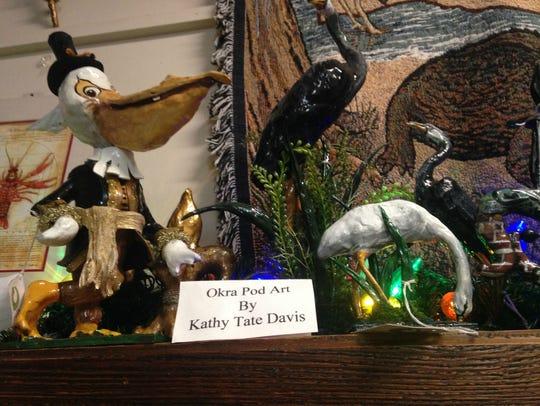 Natchitoches artist Kathy Tate Davis transforms okra
