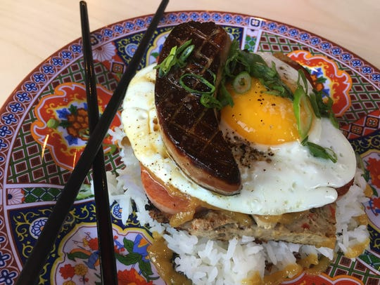 Embutido is a Filipino pork meatloaf. Chefs at Rook