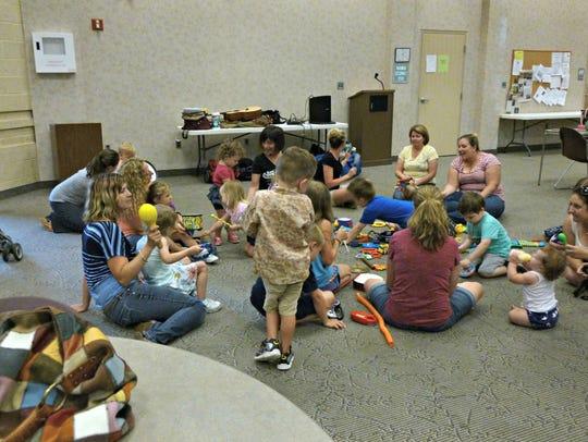 The Kids' Music Round with Marcia Kratz was held July