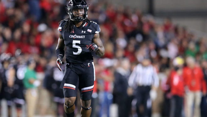 Running back Mike Boone and his fellow University of Cincinnati football seniors have two regular-season games remaining in their careers.