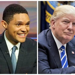 In non-fake news, 'The Daily Show' will open Trump Presidential Twitter Library