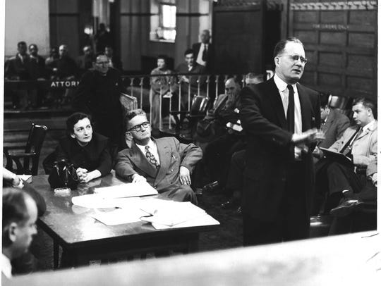 Anne Braden and Carl Braden stood trial on charges